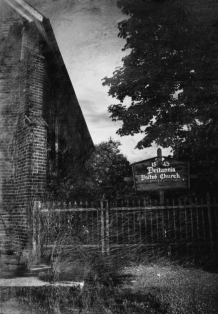 Britannia United Church and Cemetery in Mississauga
