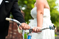 bike and wedding rings