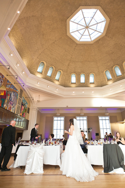 Glebe Community Centre Dome Ceiling during wedding