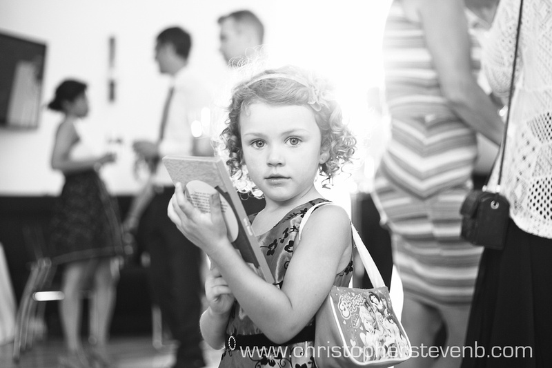 candid portrait of child at Ottawa wedding