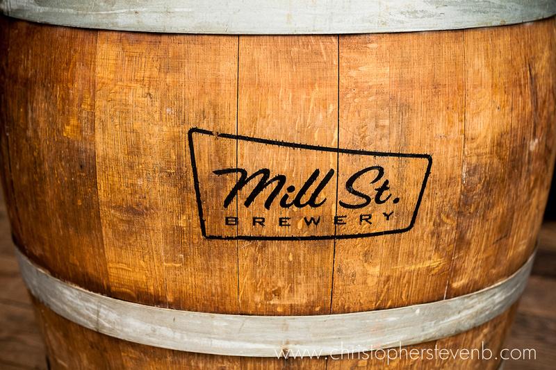 Mill St. Brewery wooden barrel / keg